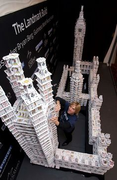 The World's Most Amazing Cardstacker