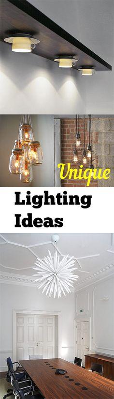 Unique Lighting Ideas