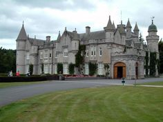 Balmoral Castle, Scotland, one of Queen Elizabeth II's homes.