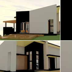 Architect Design, Garage Doors, Mansions, Studio, House Styles, Outdoor Decor, Projects, Home Decor, Log Projects