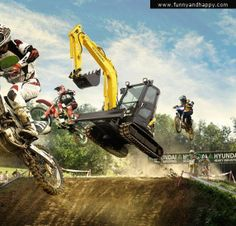 Funny motocross tractor | Funny page | Funny pictures | Funny images