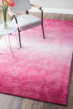 Terrace VE18 Pink Rug | Contemporary Rugs #RugsUSA