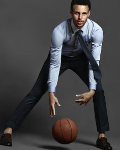 Stephen Curry looking fresh!