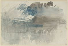 J.M.W. Turner: A Storm over the Rigi, 1844, Watercolour on paper