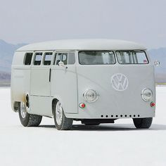 1962 VW bus gutted, filled with giant hot rod engine                                                                                                                                                                                 More