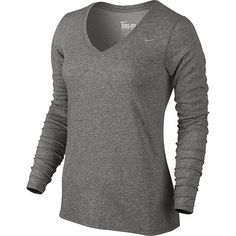 Nike Dri-FIT V-Neck Workout Tee - Women's