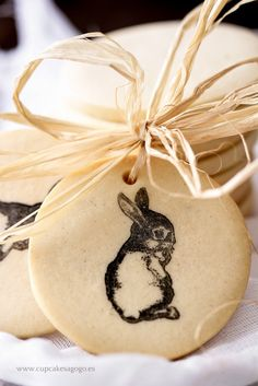 Cupcakes a gogó: Galletas de mantequilla decoradas con sellos