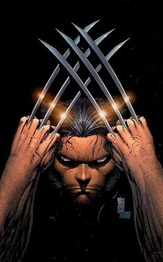 Marc Silvestri - Wolverine Pinup from an issue of Wizard (I think.)