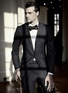 A man in a good suit can conquer the world