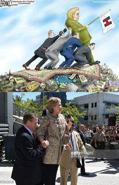 How can she possibly lead this nation when she can't stand up without a team to support her and catch her ... she can't!!