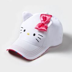 Hello Kitty Baseball Cap. Oh my goodness. -Claire's