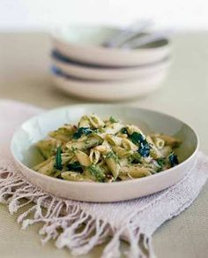 Pasta met broccoli-pesto