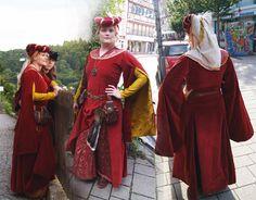 deviantART: More Like Sideless Surcoat and Hood by ~Verdaera