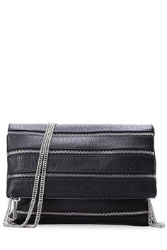 Chains Black Cover Crossbody Bag