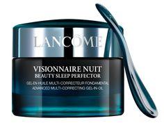 Mit Visionnaire Nuit Beauty Sleep Perfector™ macht Lancôme das aussergewöhnliche Potential der Jasmonate jetzt erstmals auch in Form einer exklusiven Nachtpflege nutzbar, um die Qualität der Haut im Schlaf zu verwandeln. Gesehen um € 85,-