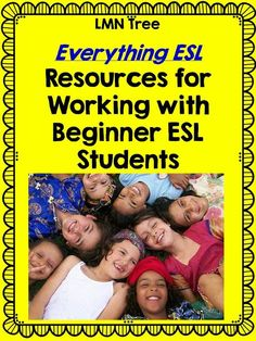LMN Tree: Everything ESL: Resources for the Beginner ESL Students