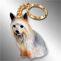 Silky Terrier Keychain: Nothing beats the exceptional look and quality of our Silky Terrier Keychain.… #PetProducts #PetGifts #AnimalJewelry