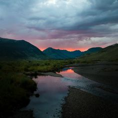 Sunset in Crested Butte