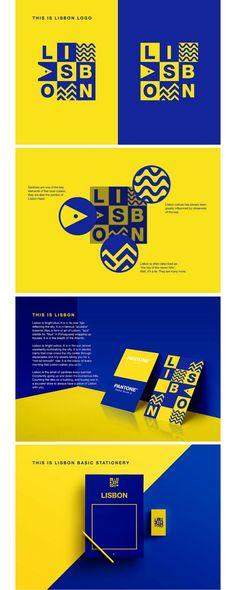 Lisbona city branding More The post Lisbona city branding & appeared first on Design. City Branding, Destination Branding, Event Branding, Identity Branding, Visual Identity, Bakery Identity, Museum Identity, Restaurant Identity, Tech Branding