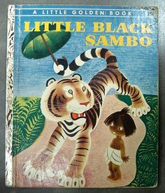 "Little Black Sambo"" Little Golden Book Edition 