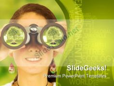 Watching For Environment Globe PowerPoint Backgrounds And Templates 1210 #PowerPoint #Templates #Themes #Background