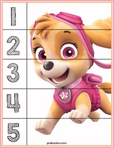 Paw Patrol Number Puzzles - Activities For Toddlers With AutismTap the link to check out great fidgets and sensory toys. Check back often for sales and new items. Happy Hands make Happy People! Autism Activities, Printable Activities For Kids, Infant Activities, Educational Activities, Preschool Activities, Printable Puzzles, Free Printable, Preschool Worksheets, Preschool Learning