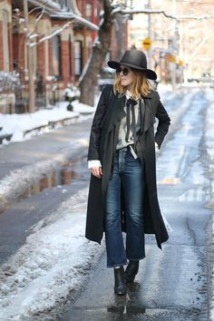 cropped flares with trench coat, spring trends cropped flare pants,