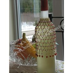 Red Wine Bottle Cover