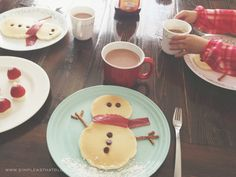 Simple Christmas Breakfast.