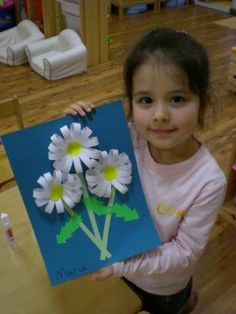 Hello, Everyone! It's spring time! We at Little Minds were busy making all kinds of flowers. Today's plan was to make daisies. This paper craft is really simple but takes a little time, because it involves lot's of work with small pieces of paper and the glue. You may pre-cut some things for the…