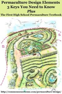 Permaculture Design - 3 Key Elements You Need to Know, Plus an Introduction to the First High School Permaculture Textbook, The Permaculture Student
