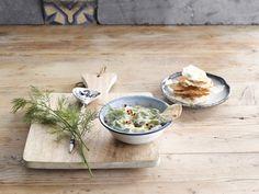 De frisse smaak van zelfgemaakte tzatziki met Alpro Mild & Creamy Naturel Ongezoet