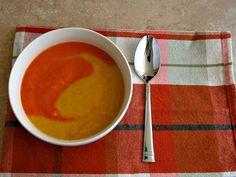 Red and Yellow Bell Pepper Soup