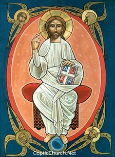 Coptic Icon E-gallery (jesus_12.jpg)