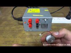 Cuarta y última entrega en donde te enseñamos cómo quedará tu fuente de tensión casera, además de una pequeña demostración de la misma alimentando un motor eléctrico de 5 voltios.