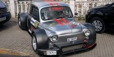 This wide-body Hayabusa-powered SEAT is your new hill climb hero Fiat 500, Sexy Cars, Hot Cars, Mini Coper, Mini Cooper Classic, Jeepster Commando, Nissan, Fiat Abarth, Wide Body