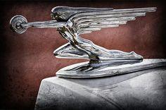 1936 Packard Hood Ornament by Jill Reger