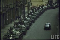 Soviet Crowd Control - The Prague Spring 1968