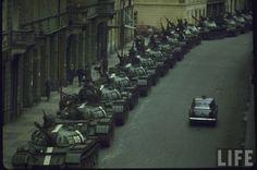 Soviet Crowd Control - The Prague Spring 1968