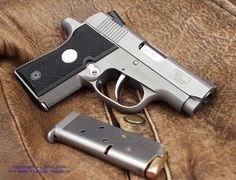 Colt Pony .380 ACP I like this gun but the handle looks a too rough