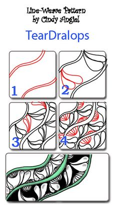 Zentangle Pattern Gallery   Zentangle/Zendoodle Patterns - a gallery on Flickr