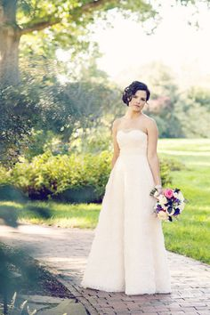 Simple and Beautiful Bride.
