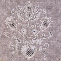 """Schwalm embroidery  ---- U jednom starom """"RAKAM""""-u"""