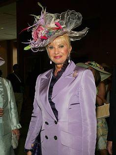 Ivana Trump's Derby Hat