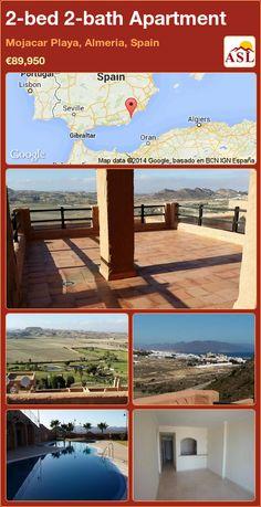 2-bed 2-bath Apartment in Mojacar Playa, Almeria, Spain ►€89,950 #PropertyForSaleInSpain
