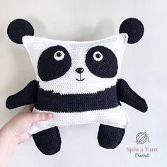 Pudgy Panda Plushie Free Crochet Pattern