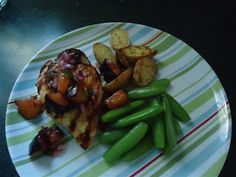 Grilled chicken with plum sauce, recipe from guest author @Erika Chase on Mystery Lovers' Kitchen @Janet Bolin @Linda Wiken @penguincozies