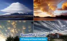 30 Stunning and Beautiful Clouds Photos - Unusual Cloud Formation. Read full article: http://webneel.com/beautiful-clouds-photos-formation | more http://webneel.com/photography | Follow us www.pinterest.com/webneel