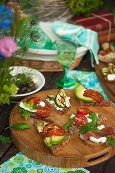 Bruschetta dinner party