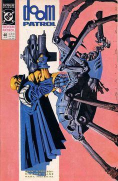 Doom Patrol #40 - Battlefield of Dreams (Issue)
